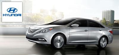 The new 2014 Hyundai Sonata is one of the popular Hyundai vehicles available at Broadway Automotive.  (PRNewsFoto/Broadway Automotive)