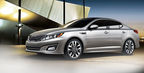 The 2015 Kia Optima retains all its elite styling from the previous year while adding a number of performance components and creature comforts. (PRNewsFoto/Bill Jacobs Auto Group)
