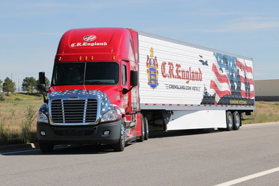 C.R. England Honored Veterans Truck and Trailer