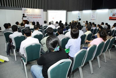 Seminar at VIETSTOCK Expo and Forum in 2014