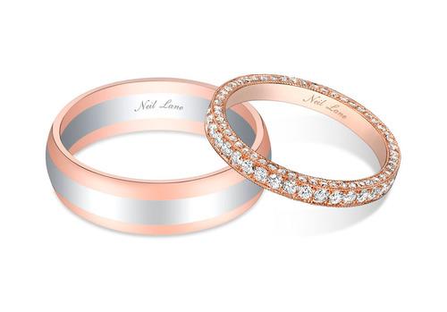 Bachelor couple Sean Lowe and Catherine Giudici selected Neil Lane wedding bands for their big day. ...