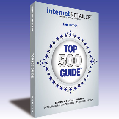 The 2015 Top 500 Guide, now in its 12th edition, ranks the 500 leading web merchants in the U.S. and Canada by 2014 online sales and other key metrics.