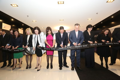 Mary Kay Colombia is open for business as executives from the global beauty company cut the ribbon at the newest location in Bogota, Colombia on March 13, 2015. Celebrating more than 50 years in business, Mary Kay operates in more than 35 countries with 3.5 million Independent Beauty Consultants and $4 billion in global annual sales.