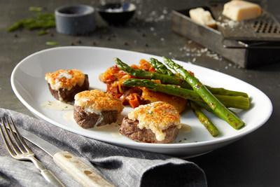 BRAVO! Cucina Italiana's Parmesan Crusted Beef Medallions