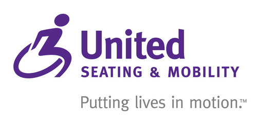 United Seating & Mobility logo. Putting lives in motion(TM).   (PRNewsFoto/United Seating & Mobility)