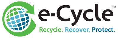 e-Cycle logo.  (PRNewsFoto/e-Cycle)