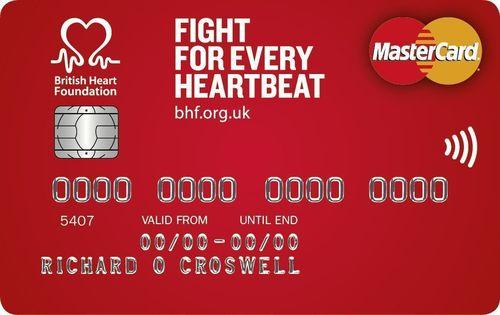 The British Heart Foundation Credit Card (PRNewsFoto/MBNA Limited)