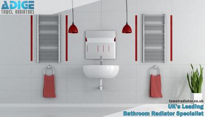 UK's Leading Bathroom Radiator Specialist (PRNewsFoto/ADIGE Towel Radiators)