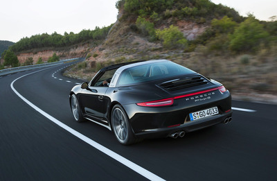 The 2014 Porsche 911 Targa.  (PRNewsFoto/Porsche Cars North America, Inc.)