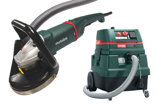 Upgraded Concrete Surface Prep Kit from Metabo Offers More Power, Improved Ergonomics and Airflow