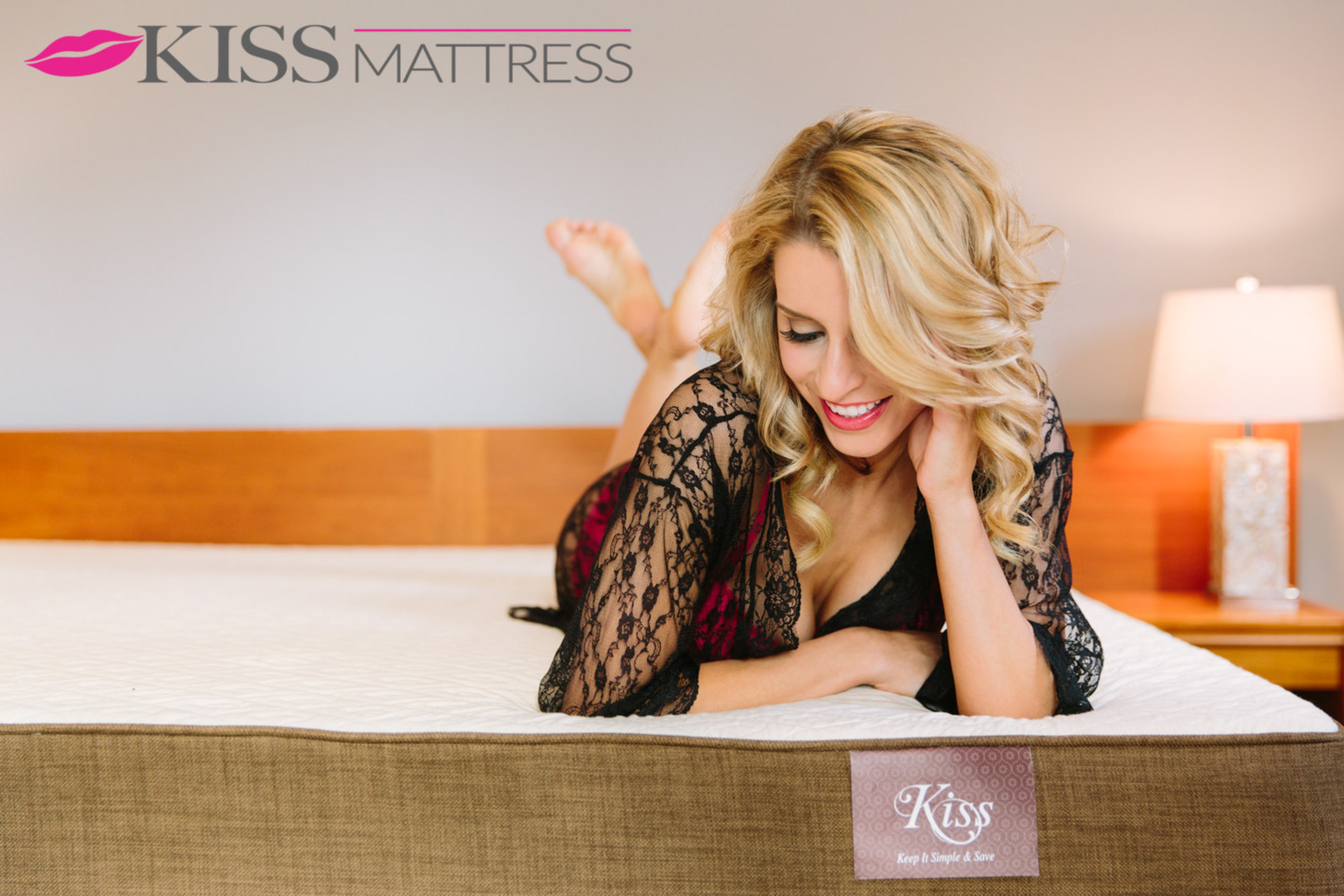 Kiss Mattress wants to make the bedroom sexy again and that starts with making a mattress easier to buy.