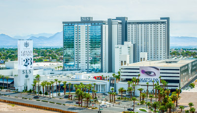 Hospitality group sbe opens new luxury resort SLS Las Vegas, Aug. 23, 2014