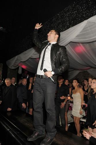 TINO COURY Performed Live at Eva Longoria's Birthday Party Friday Night at Her Las Vegas Nightclub