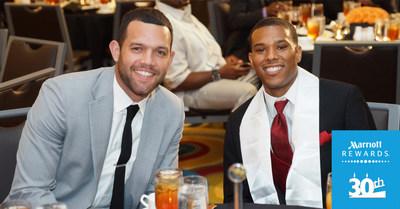 Pro basketball star Jordan Farmar and Ryan Hicks of