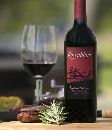 ROSENBLUM CELLARS ZINFANDEL AND HEARTY BARBECUE MAKE PERFECT SUMMER PARTNERS.  (PRNewsFoto/Rosenblum Cellars)