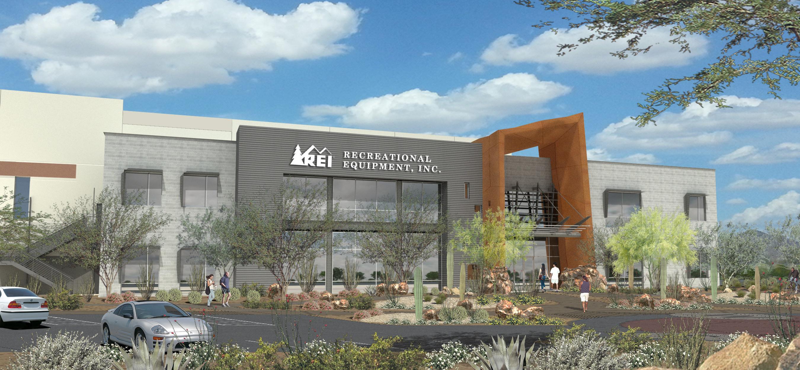 REI's distribution center in Goodyear, Arizona (opening July 2016).