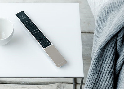 Introducing the unique BeoRemote One for personalized settings.  (PRNewsFoto/Bang & Olufsen)