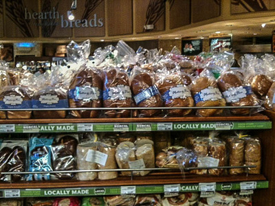 Miettes de Pain in Whole Foods Market, Los Altos store, bread aisle.  (PRNewsFoto/Pastry Smart LLC)