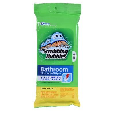 Scrubbing Bubbles(R) Antibacterial Bathroom Wipes