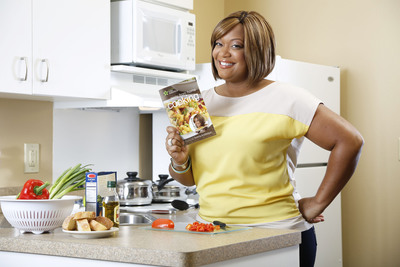 "Extended Stay America Hotels Partners With Food Network's Sunny Anderson To Present ""Away From Home Cooking"" Cookbook. (PRNewsFoto/Extended Stay America) (PRNewsFoto/EXTENDED STAY AMERICA)"