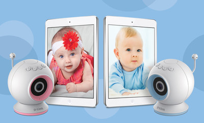 The D-Link Wi-Fi Baby Camera (DCS-825L) features HD video, integrated motion and sound detection, temperature sensing, night-vision technology, and video recording.