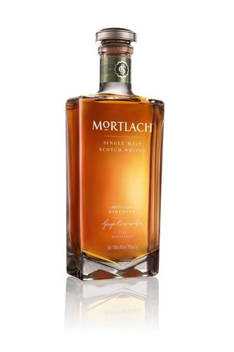 Mortlach Special Strength is exclusive to travellers and is presented in a striking and iconic ...