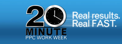 WordStream 20 Minute PPC Work Week gives you real results, real fast.  (PRNewsFoto/WordStream Inc.)