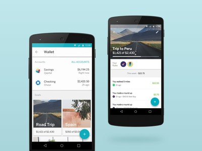 Qapital, the first goal-based, gamified personal finance app that's revolutionizing the way young Americans save money for the things they want to do and experience in life, is now available to Android users.