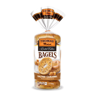Thomas' Salted Caramel Bagels
