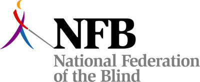 National Federation of the Blind logo.  (PRNewsFoto/National Federation of the Blind)