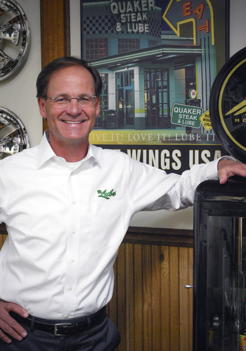 Greg Lippert Named Quaker Steak & Lube Chief Executive Officer  (PRNewsFoto/Quaker Steak & Lube)