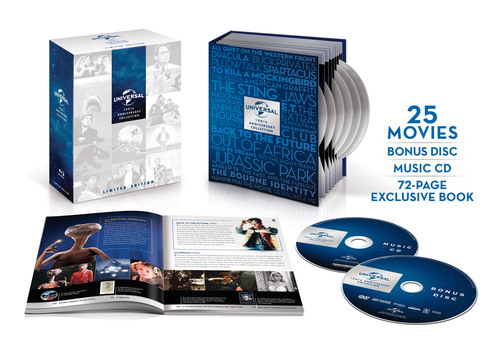 From Universal Studios Home Entertainment: Universal 100th Anniversary Collection Limited Edition