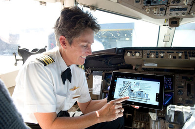 The innovative Surface 2 tablet provides flight crews with easy access to essential tools and the most up-to-date flight-related resources.