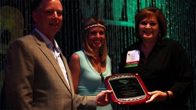SCSAE Bestows Top Honors to Carolinas AGC Exec.  (PRNewsFoto/Carolinas Associated General Contractors)