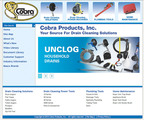New Cobra Products website offers homeowners quick and easy access to essential product and application information for drain cleaning, plumbing and home maintenance.  (PRNewsFoto/Cobra Products, Inc.)