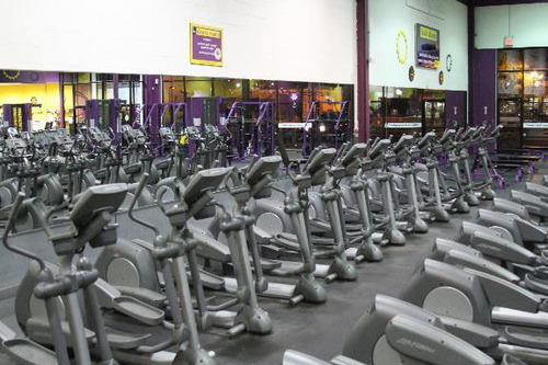 Elkhart interior.  (PRNewsFoto/Planet Fitness)