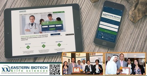 Best Technology Initiative Award Accepted by Dr. Faruq M. Badiuddin, Chairman & MD, Eastern Biotech & Life Sciences (PRNewsFoto/Eastern Biotech & Life Sciences) (PRNewsFoto/Eastern Biotech & Life Sciences)