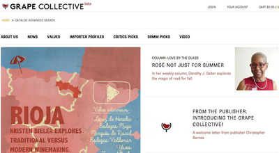 Welcome to Grape Collective's Homepage. (PRNewsFoto/Grape Collective) (PRNewsFoto/GRAPE COLLECTIVE)