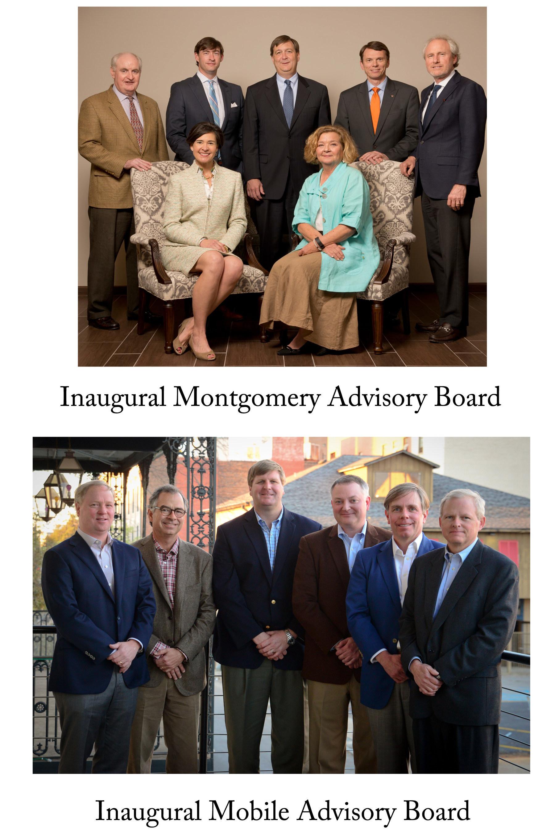 Oakworth Capital Bank Inaugural Advisory Boards
