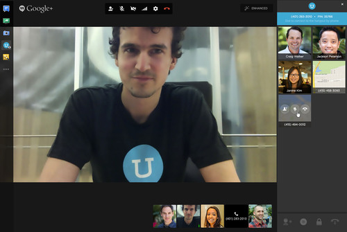 UberConference gives Google+ Hangouts a phone number. Join your Hangouts meeting from anywhere via telephone ...