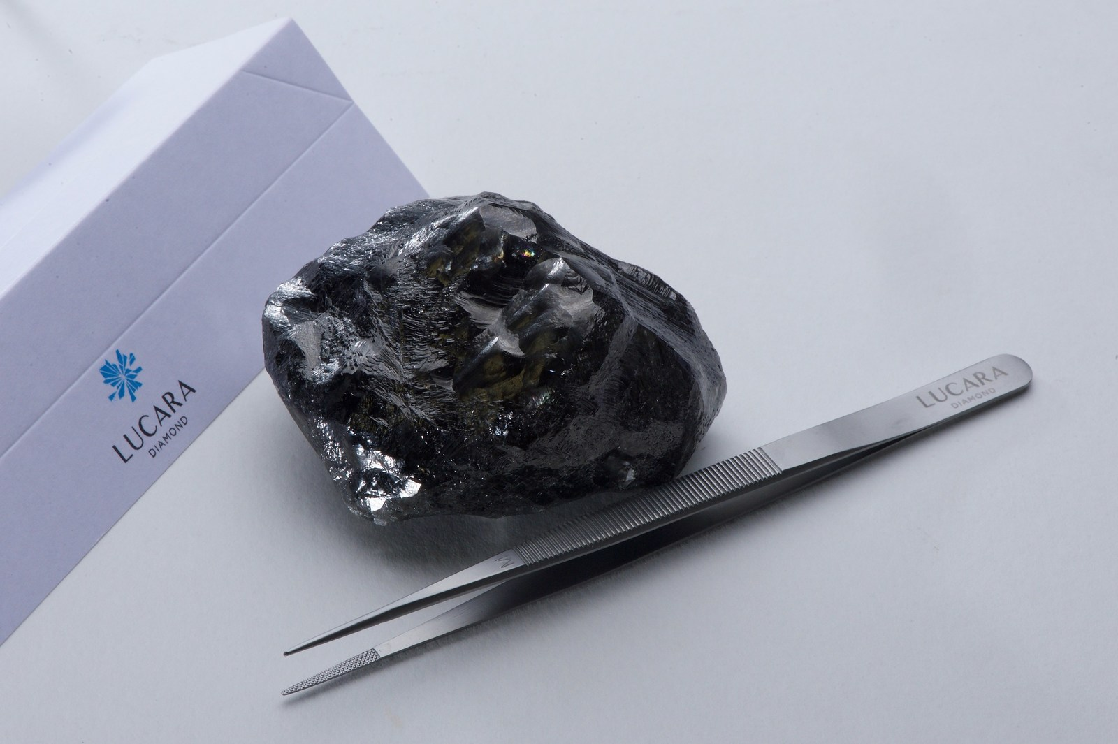 The 1,758 carat diamond recovered from the Karowe mine.