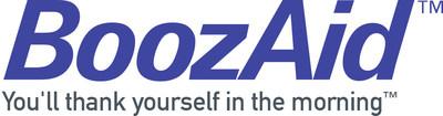 BoozAid logo and tagline