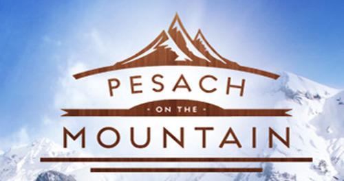 Pesach on the Mountain logo.  (PRNewsFoto/Pesach on the Mountain)