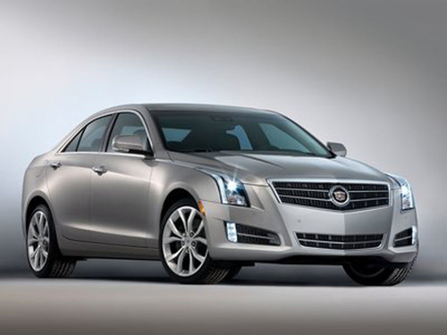 MotorWeek's 2013 Best of the Year Drivers' Choice award was given to the Cadillac ATS at the Chicago Auto Show and staff from Bill Jacobs Cadillac were able to be at the show to check it out.  (PRNewsFoto/Bill Jacobs Cadillac)
