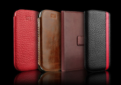 SENA Leather Collection for Samsung Galaxy S4.  (PRNewsFoto/Sena Cases)