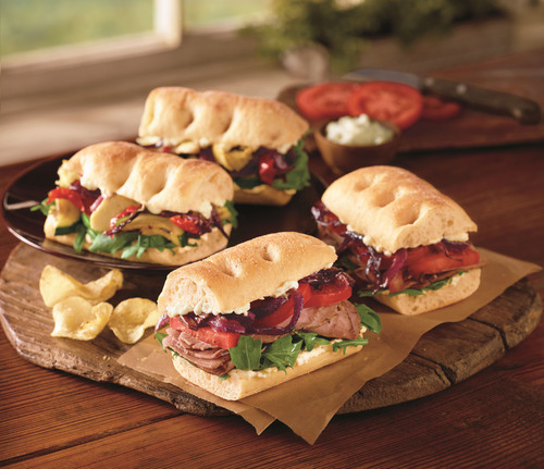 New Signature Sandwiches on Potato Thyme Bread, Garden Gate Scrambler, Fruit-Filled Hand Pies and More ...