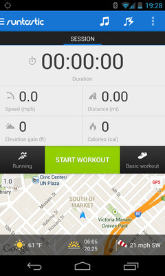 Runtastic Unveils New App for Android 4.3.  (PRNewsFoto/Runtastic)