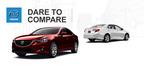 2014 Mazda6 vs. 2014 Toyota Camry.  (PRNewsFoto/Matt Castrucci Mazda)