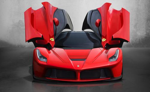 LaFerrari - front aperto. (PRNewsFoto/Ferrari) (PRNewsFoto/FERRARI)