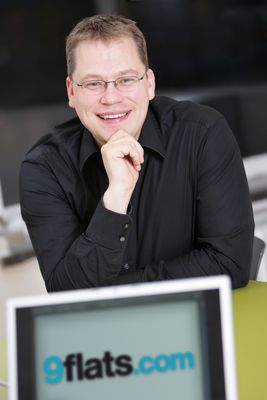 Stephan Uhrenbacher, Founder and CEO of 9flats.com